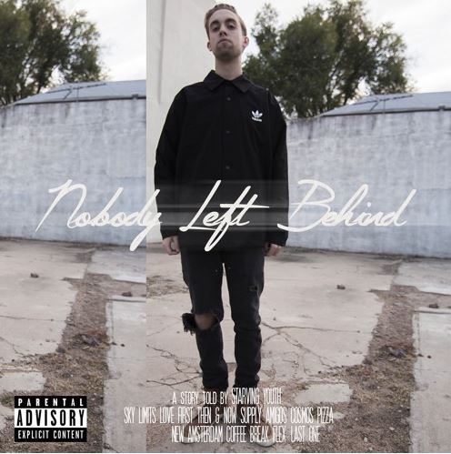 Starving Youth Nobody Left Behind front cover